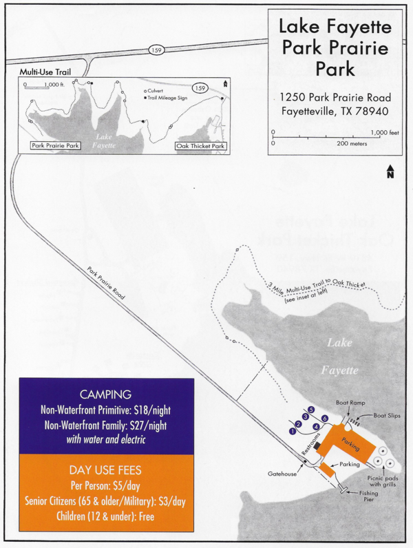 map of campground